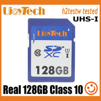 UjoyTech Brand Class 10 Real 128GB SDXC card UHS-I High Quality SD Card Camera Memory Card+Package+Free Shipping+Free Gift
