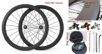 F6R Carbon wheels 60mm*23mm ems shipping