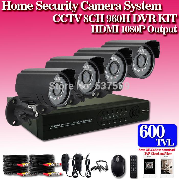 Система видеонаблюдения C-Emperor 8/h.264