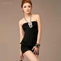 Vestido corset women's summer spaghetti strap one-piece black dress sexy mini short saias femininas saia women short corset saia
