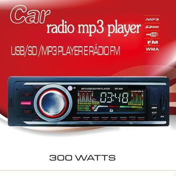 Car Radio FM MP3 U disk reader color screen high-power 3-year warranty machine