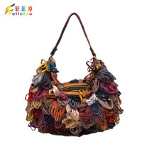 Promotion!! Hot Sale new arrival Women messenger bag dual funtion Bags Real Leather tassel Handbags bags 1946
