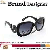 2015 Floating Clouds Baroque Fashion Sunglasses Women Vintage,F.D.A Standard UV400 Rectangle Glasses women Brand Designer