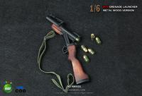 1:6 Soldier  M79 grenade launcher metal wood version(Can not shoot)