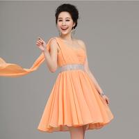 Soft and Comfortable Chiffon Formal Dress bridal wear evening dress dinner party evening dress