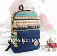 2014 New arrival High quality Women Canvas Printing backpack Preppy style Lady Girl Student School Travel bag Mochila Bolsas