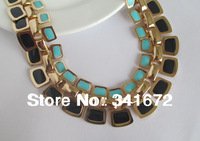 no min order wholesale send mix enamel fashion new 2014 fairy gifts painted statement bohemian punk cute bib accessories