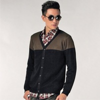 Free shipping men's cardigans sweater fashion autumn clothes