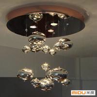 Handmade glass bubble ball Bedroom Restaurant ceiling light