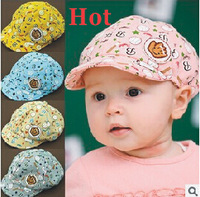 Free shipping 2014 New Style in Spring and Autumn Free Shipping Elastic 42-52cm Unisex Baby Hat Caps 3-24Months #1551
