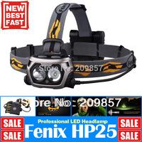 Fenix HP25 Two Cree XP-E LEDs + 4 AA Batteries Outdoor Headlamp 360 Lumen Waterproof Rescue Search Head Torch