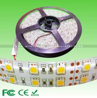 5M(16.4ft) 600LED SMD5050 DC12V 144W IP65 Waterproof 9500-10000lm high lumen flexible led strip lights for holiday decoration