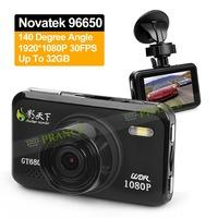 Big Promotion 100% Original Novatek 96650 GT680W Car DVR Camera Recorder+Optional GPS+140 Degree Lens+WDR+Super Night Vision