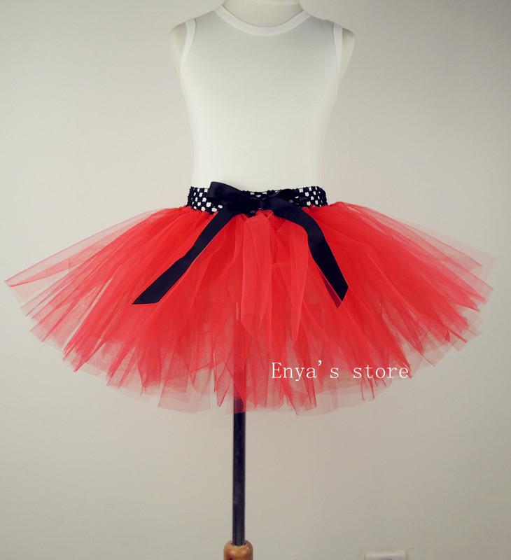 Юбка для девочек Fashion baby girls red black christmas tutu skirts Girls red princess skirts pettiskirts Christmas costume