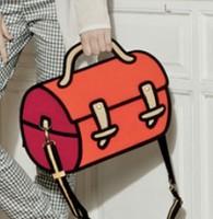 Drop shipping 2013 cartoon 3d women handbag gismo bag free shipping lady 3d cartoon shoulder messenger bag