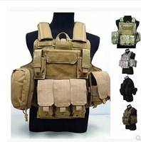 Ciras Mar Tactical Vest protective vest CS Marine Land Tactical Vest, Top quality Nylon 800D  Molle Combat Strike Plate Carrier