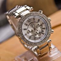 WAT177 Free Shipping 2013 New quartz women Diamond wrist watches fashion Luxury Rhinestone Dial ladies Alloy watches top quality