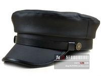 winter cap winter hat hats for man, women  Fashion leather navy cap student hat cadet cap vintage cap fur hat female male