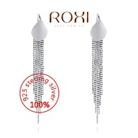 ROXI Sterling silver Fashion Jewelry 925 Silver AAA CZ Modelling Beauty Pendent Earrings Party Christmas Gifts3020141458