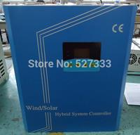 High power 4000w 48v Wind solar hybrid controller regulator 80A with LCD Display ,PWM, Dump load fuction 3000w wind+1000w solar