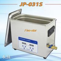 Free Shipping AC110V/220V ultrasonic cleaner 6.5L-digital dental JP-031S with timer&heater 40KHz with free basket