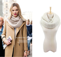 2014 new autumn winter fashion Winter scarf  shawl, wool Neckwear woman Ring Scarf Collar