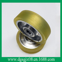wheel  pulley with coating plastic