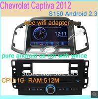 Pure Android 4.0 OS Car DVD GPS Headunit Audio Video For Chevrolet Captiva 2012 Navi Radio RDS Bluetooth iPod 3G WIFI USB SD