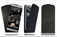 1pc Black Color for htc one s cases Genuine Real 100% Leather Case Cover Skin for HTC One S / Handmade