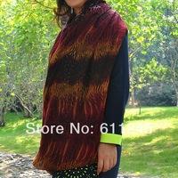Min order is usd15.0 Fashion High Quality Leopard Dot and Zebra Strip Animal Print Women's Collar  Scarf