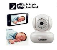 Wireless Wifi Mini IP Camera P2P MJPG 3.6 mm Lens 13 Led Night Vision 10M 2 Way Audio Support 16 Users