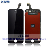 100% Guarantee LCD Screen for iPhone 5C LCD with touch screen digitizer Full set Assembly Black color Free shipping