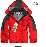 2013  Autumn Brand  children Sport wear Outdoor Ski Jacket Kids Waterproof breathable windproof Hiking 3 layer 2in1 Jackets