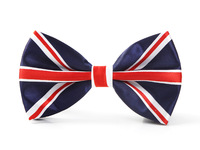 "Free shipping-Bow tie for Men Fashion ""England Flag"" #2 pattern Men's Unisex Tuxedo Dress Shiny Party ties/Butterfly Brand New"