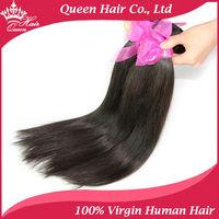 "Brazilian Virgin Hair Straight Human Hair Mixed Length 3pcs Lot 8""-30"" Extenstions No Shedding No Tangle Fast DHL Free Shipping"