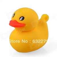 Cute Cartoon Duck Style USB 2.0 Flash Driver Disk - Yellow (4GB 8GB 16GB)  Free Delivery