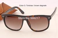 UV400 2015 New in Original Box case Fashion Super Star Women Men Sunglasses 4147 710/51 60mm Large Round Shape Lady Sunglasses