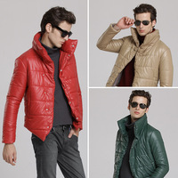 Free shipping 2013 mens cold winter sport  fashion outdoor duck down  jackets and coats parka brand quilted jacket plus size