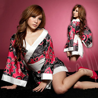 Sexy japanese style flower kimono sexy underwear set cosplay trecsure\to my shop have a surprise