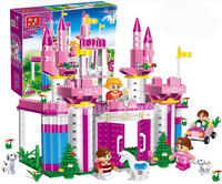 Banbao Princess Series A6365 Girl Building Block Sets 380pcs Educational Jigsaw DIY Bricks toys for children ,Compatible