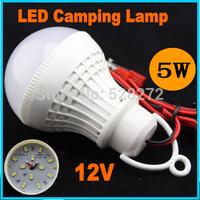 led camping lamp DC12V 5W 12pcs 5730SMD night fishing light,emergency lamp,Battery lamp,white/warm white,led hanging light