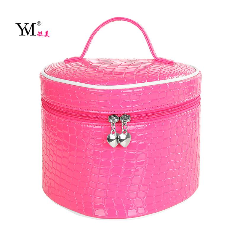 2014 Super Large Capacity Female Heart Cosmetic Bag Waterproof