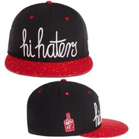 Cayler & Sons hats  hi haters  black  red  & black purple snapback Caps hiphop adjustable caps Freeshipping