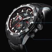 2015 High quality brand CASIMA men fashion sports Business quartz watch, 100M waterproof full steel dress watches Husband gift