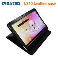 "CREATED LX10 10"" Tablet PC special leather case Specially Designed Tablet Protective case for  X10&X10S tablet"