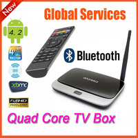 New! Bluetooth version mk888 CS918 quad core tv box Android 4.2.2 2GB+8GB RK3188 28nm Cortex A9 mini pc K-R42