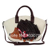 EMS Delivery Retail Hedgehog Pattern Fashion Mosaic Shell Shoulder Cross Body Women Handbags Bags Bolsas Items TB 2013 Latest