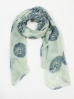 Wholesale 2013 Autumn Season Fashion Scarf Rayon Yoga OM Deisgn 180*80 cm, Item No.: S00005