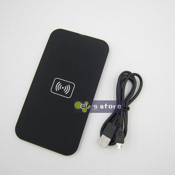 Черный QI беспроводной зарядки зарядное устройство для LG Pad E960 Google Nexus 4 2G Nokia Lumia 920 Samsung Galaxy S3 I9300 N7100 S4