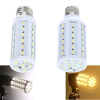 15W E27/E14/B22 60 5630 SMD  360 degree LED Corn Bulb 220V Warm White / white High Luminous Efficiency led Light Lamp